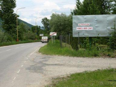 Reklamné plochy na prenájom - Považská Bystrica