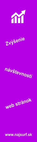 NajSurf.sk - reklama zadarmo, zvýšenie návštevnosti